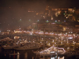 Monaco Harbor at Night  Show Boats International Rendezvous
