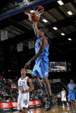 Tulsa 66ers v Texas Legends: Larry Owens and Antonio Daniels