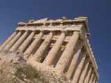 A View of the Parthenon from Below
