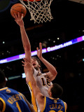 Golden State Warriors v Los Angeles Lakers: Pau Gasol and Stephen Curry