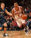 Minnesota Timberwolves v Chicago Bulls: Derrick Rose and Luke Ridnour