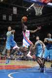 New Orleans Hornets v Detroit Pistons: Ben Gordon and Trevor Ariza