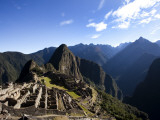 Machu Picchu  Ruins Leftover from the Inca Empire  in Peru