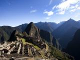 Machu Picchu  Ruins Leftover from the Inca Empire  in Peru