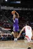 Sacramento Kings v Houston Rockets: Luther Head and Kevin Martin