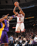 Los Angeles Lakers v Chicago Bulls: Derrick Rose and Kobe Bryant