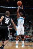 San Antonio Spurs v New Orleans Hornets: Chris Paul and Tony Parker