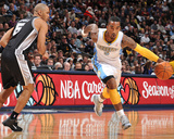San Antonio Spurs v Denver Nuggets: JR Smith and Ime Udoka