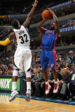 Detroit Pistons v Memphis Grizzlies: Ben Gordon and OJ Mayo