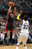 Miami Heat v Memphis Grizzlies: Eddie House and OJ Mayo