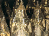 Buddha Statues Wrapped in Plastic