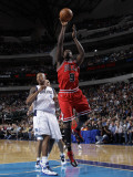 Chicago Bulls v Dallas Mavericks: Luol Deng and Caron Butler