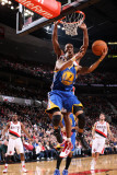 Golden State Warriors v Portland Trail Blazers: Dante Cunningham and Acie Law