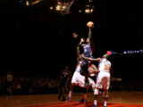 Atlanta Hawks v New York Knicks: Josh Smith and Raymond Felton