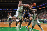 Indiana Pacers v Boston Celtics: Glen Davis and Danny Granger