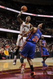 New York Knicks v Cleveland Cavaliers: Daniel Gibson and Wilson Chandler