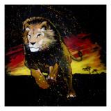 Lion Running