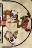Chicago Bulls v Phoenix Suns: Channing Frye  Luol Deng and Jared Dudley