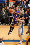 Los Angeles Lakers v Washington Wizards: Matt Barnes and Kirk Hinrich