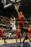 Cleveland Cavaliers  v Indiana Pacers: Darren Collison and Jamario Moon