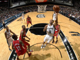 Portland Trail Blazers v San Antonio Spurs: Tony Parker and Andre Miller