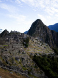 Machu Picchu  an Archaeological Site in Peru  from Above