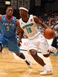 Tulsa 66ers v Sioux Falls Skyforce: Jonny Flynn and Tweety Carter