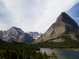 The Jagged Peaks of Glacier National Park Offer a Beautiful Vista
