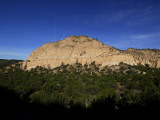 A Rock Formation at Tent Rocks National Monument