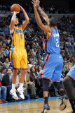 Oklahoma City Thunder v New Orleans Hornets: Marco Belinelli and Thabo Sefolosha
