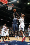 Charlotte Bobcats v Atlanta Hawks: Kwame Brown and Maurice Evans