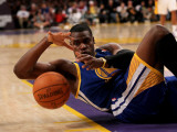 Golden State Warriors v Los Angeles Lakers: Jeff Adrien