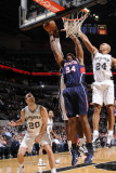 Atlanta Hawks v San Antonio Spurs: Jason Collins and Richard Jefferson