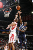 Memphis Grizzlies v Houston Rockets: OJ Mayo and Shane Battier