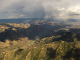Aerials of Mountains and Ridges of Range Creek  Utah