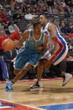 New Orleans Hornets v Detroit Pistons: Trevor Ariza and Tracy McGrady