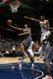 Charlotte Bobcats v Atlanta Hawks: Boris Diaw and Al Horford