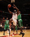 Boston Celtics v Toronto Raptors: Reggie Evans and Kevin Garnett