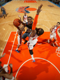 Charlotte Bobcats v New York Knicks: Gerald Wallace and Ronny Turiaf