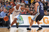 Memphis Grizzlies v Denver Nuggets: Chauncey Billups and Rudy Gay