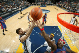 Detroit Pistons v Memphis Grizzlies: Marc Gasol and Ben Wallace