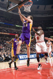 Los Angeles Lakers v Chicago Bulls: Pau Gasol and Luol Deng