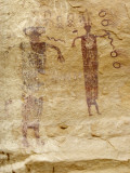 Native American Rock Art of the Barrier Canyon Style