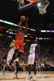 Chicago Bulls v Phoenix Suns: Luol Deng and Jason Richardson
