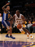 Golden State Warriors v Los Angeles Lakers: Kobe Bryant and Monta Ellis