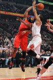 Los Angeles Clippers v Chicago Bulls: Baron Davis and Derrick Rose