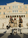 Changing of the Guard in Front of the Tomb of the Unknown Soldier