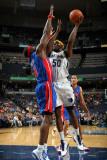 Detroit Pistons v Memphis Grizzlies: Zach Randolph and Ben Wallace