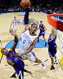 Sacramento Kings v Oklahoma City Thunder: Russell Westbrook and Donte Greene