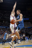 Minnesota Timberwolves v Oklahoma City Thunder: Luke Ridnour and Nick Collison